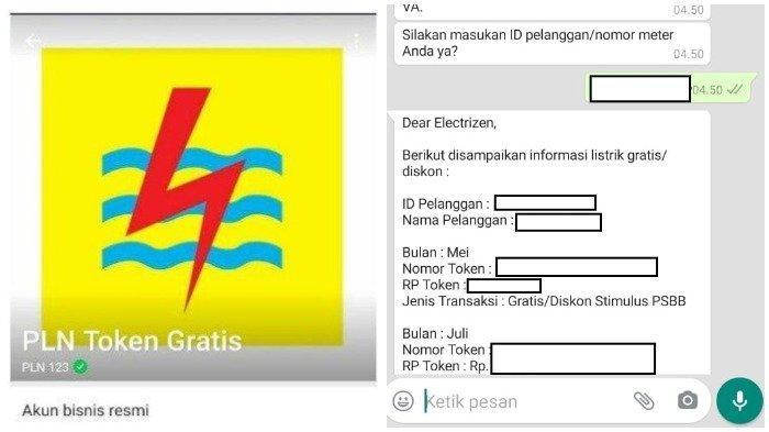 Chat WA 08122-123-123 atau Login www.pln.co.id Simak Cara